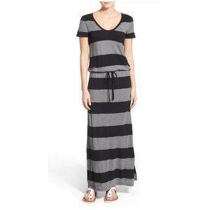 Caslon drawstring jersey knit maxi dress size XXL